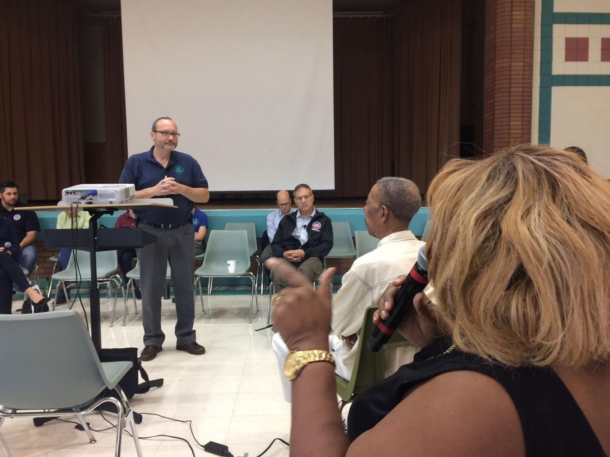 Residents announce testing plan as officials answer questions about East Chicago water