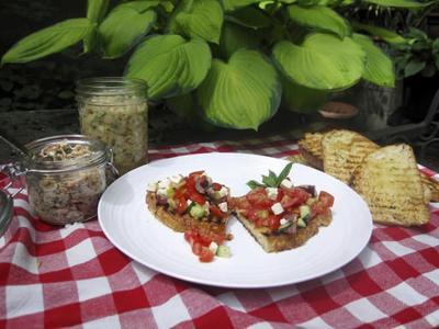 Bruschetta, 3 ways, for a satisfying main dish