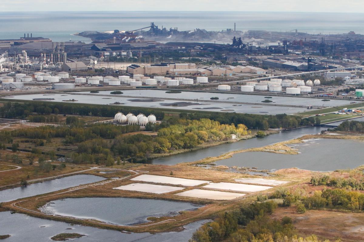ArcelorMittal Indiana Harbor Aerial