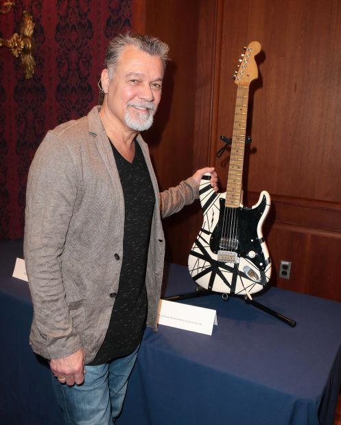 Eddie Van Halen talks innovation in music | Music ...