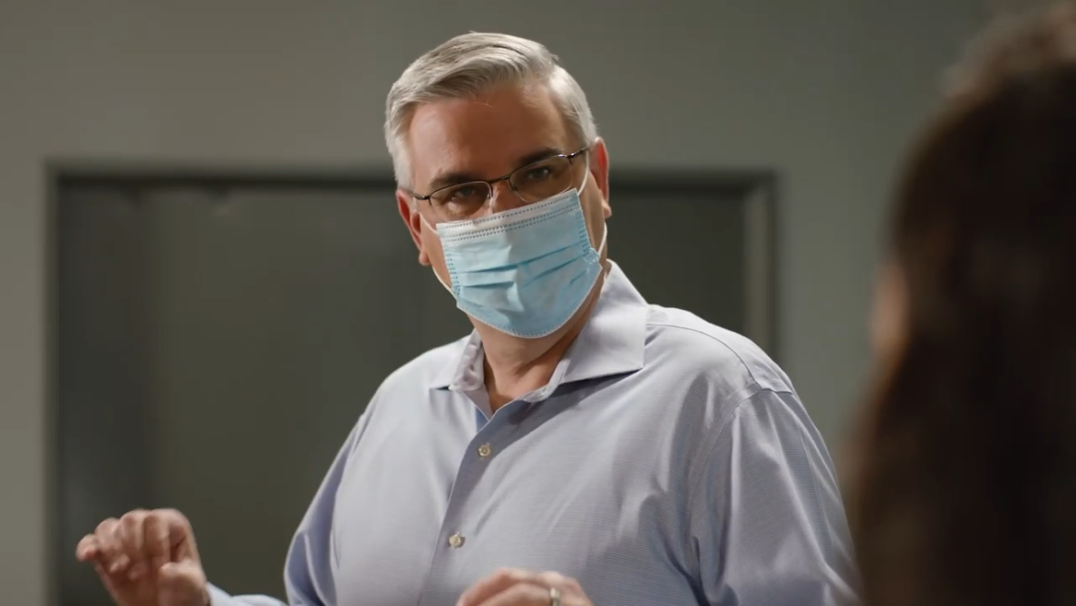 WATCH NOW: Gov. Holcomb promotes Hoosier unity amid COVID-19 pandemic in first 2020 campaign commercial