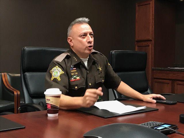 Lake County Sheriff Oscar Martinez Jr.