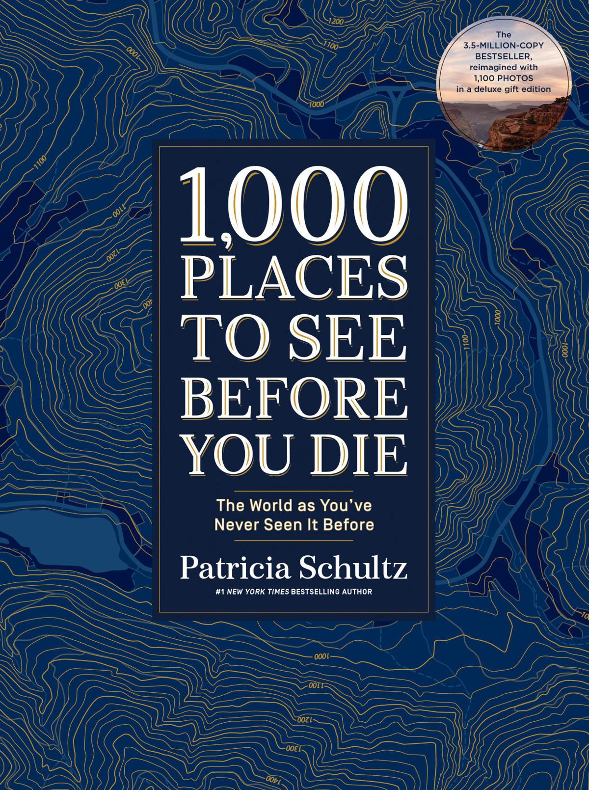 COVER. 1,000 Places to See Before You Die