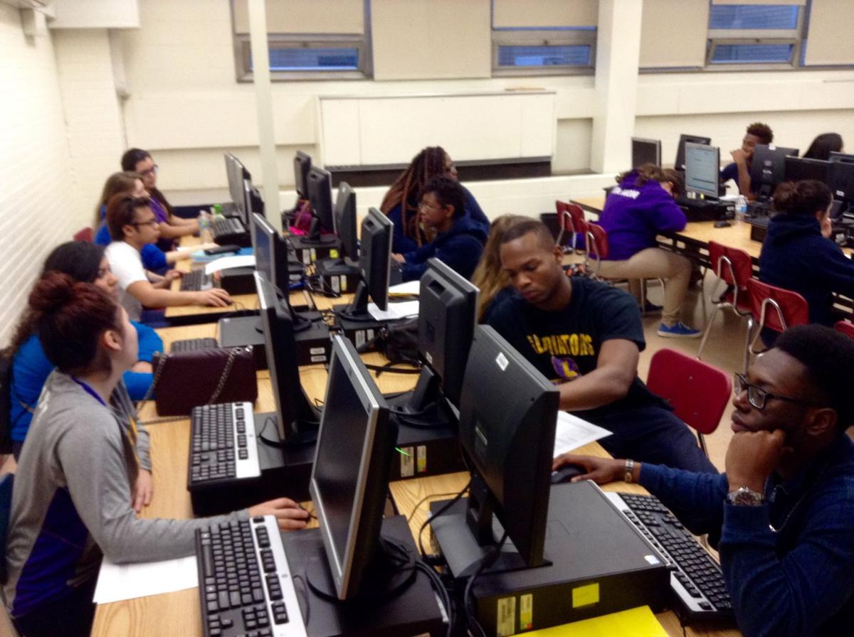 Hammond students apply to college with help of the blueprint hammond gavit high school malvernweather Gallery