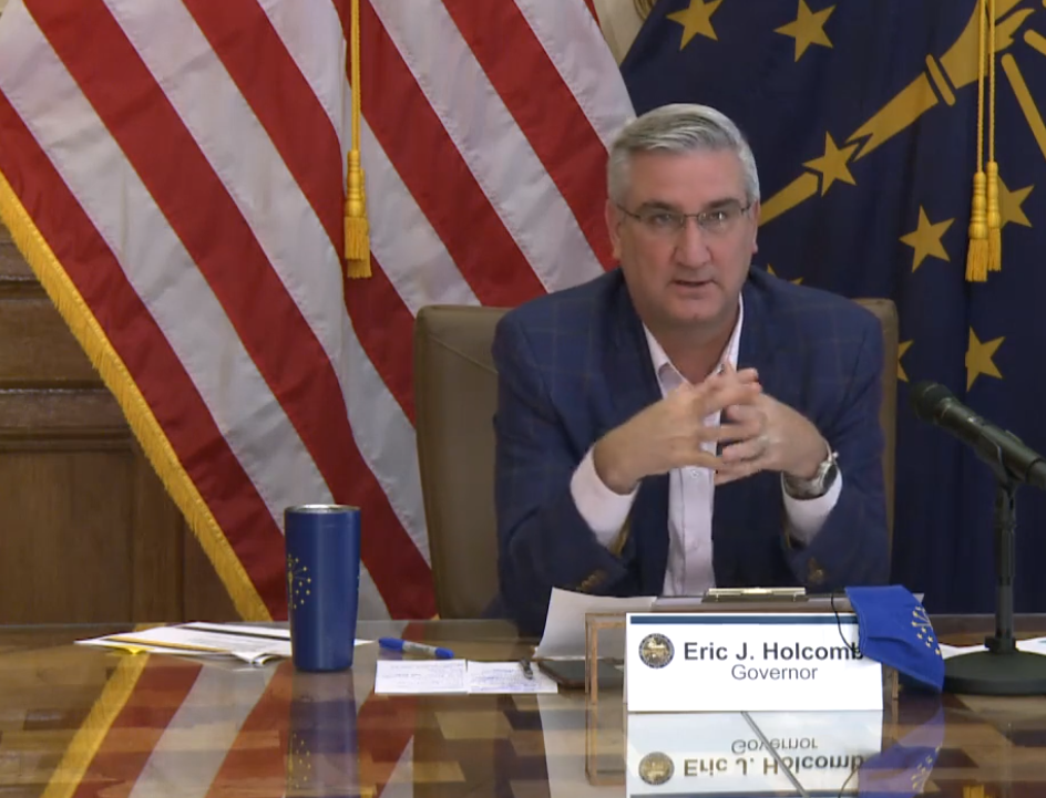 Governor keeps reopening of Indiana economy on pause due to growing COVID-19 case counts
