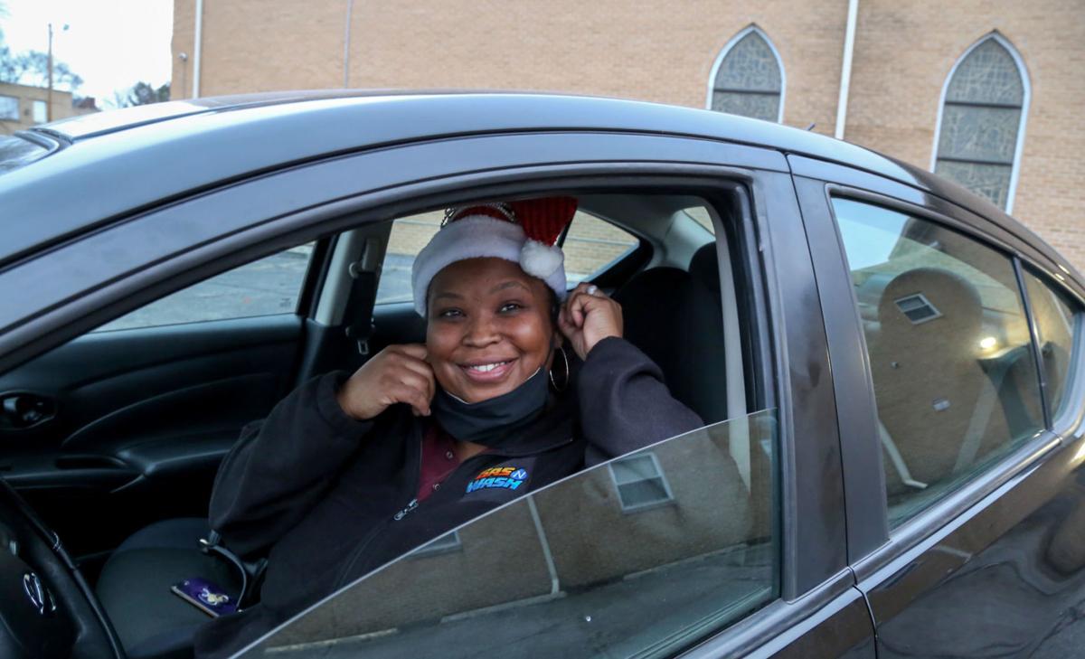 Nakinta Kendrick's new car courtesy Tree of Life MBC