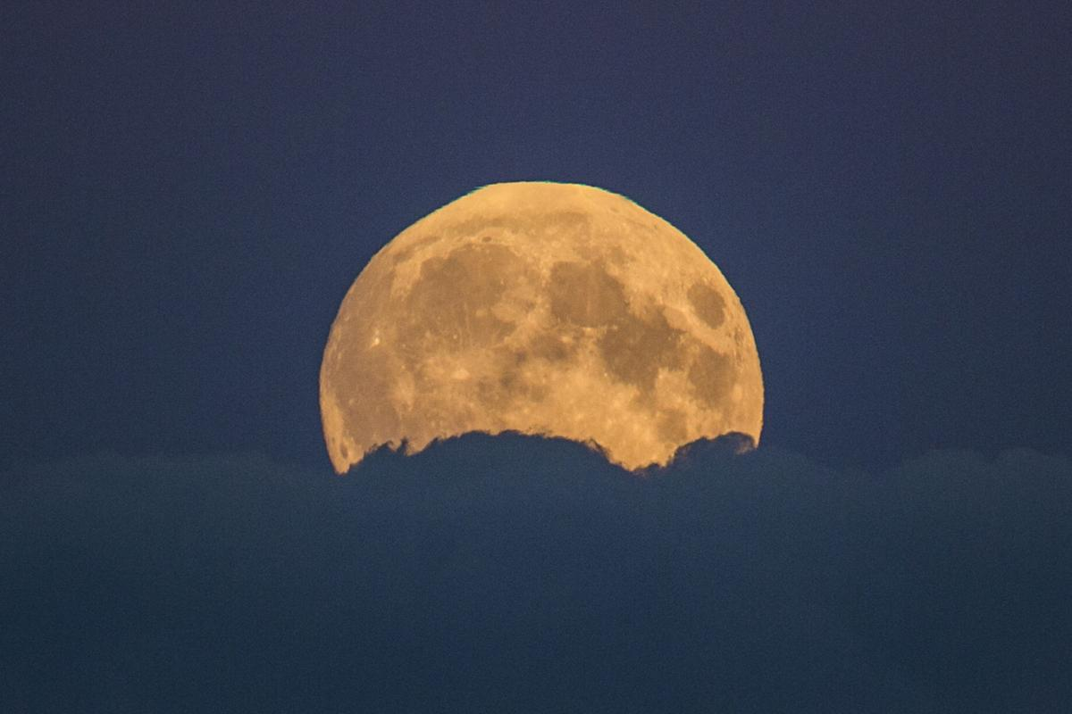 Germany Supermoon Lunar Eclipse