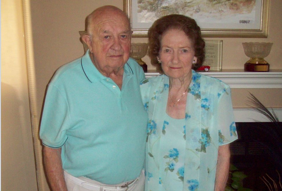 Celebrating 75 years together