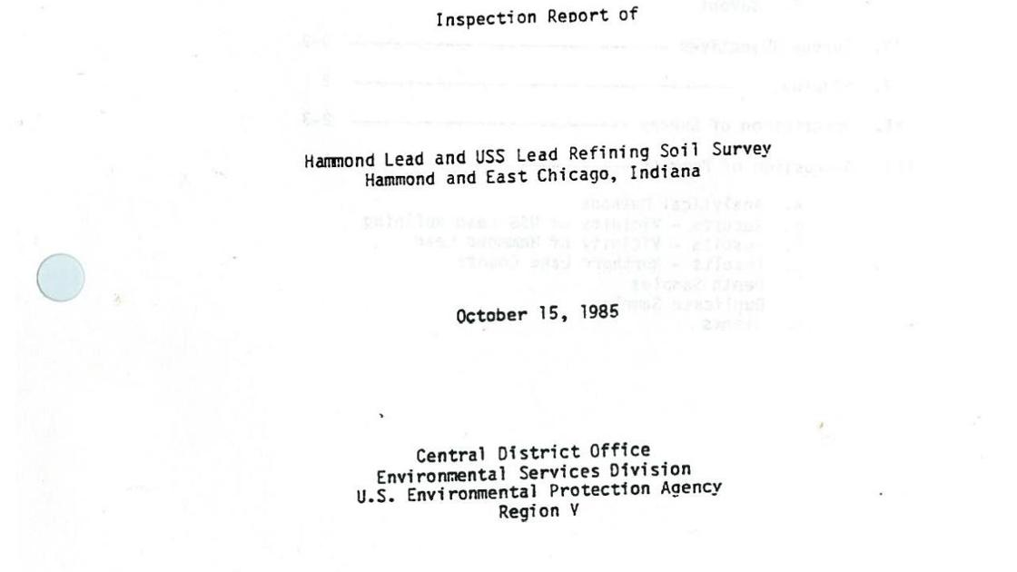 Timeline History Of The Uss Lead Superfund Site In Ec