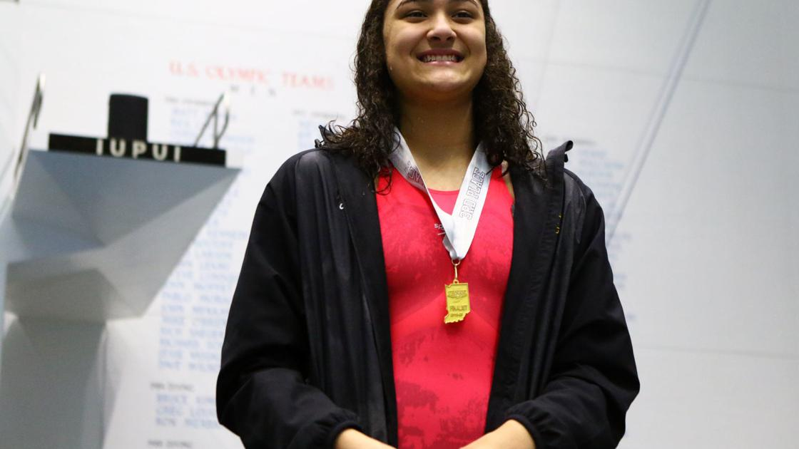 Hobart's Wright comes up short in 100 free title defense