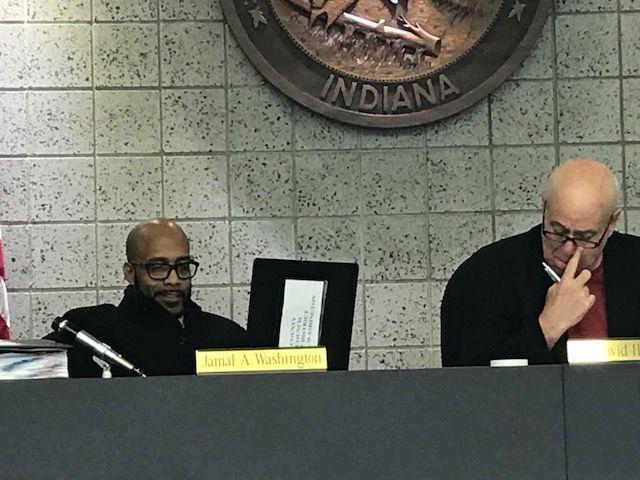 Lake County Councilman Jamal Washington