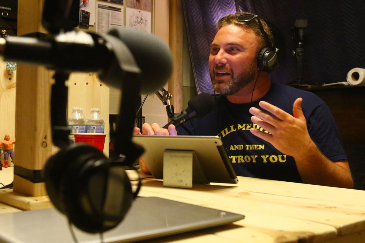 Green Door Network podcast recording