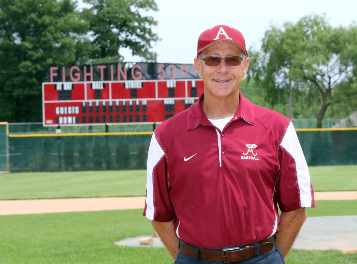 Andrean baseball coach Dave Pishkur