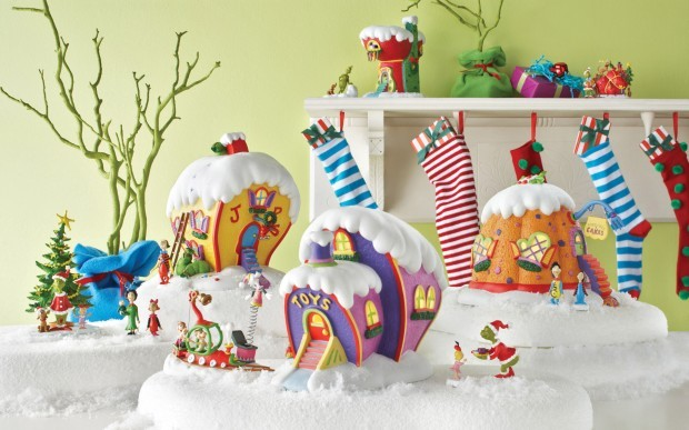 New Iterations Of The Classic Miniature Christmas Village Add A