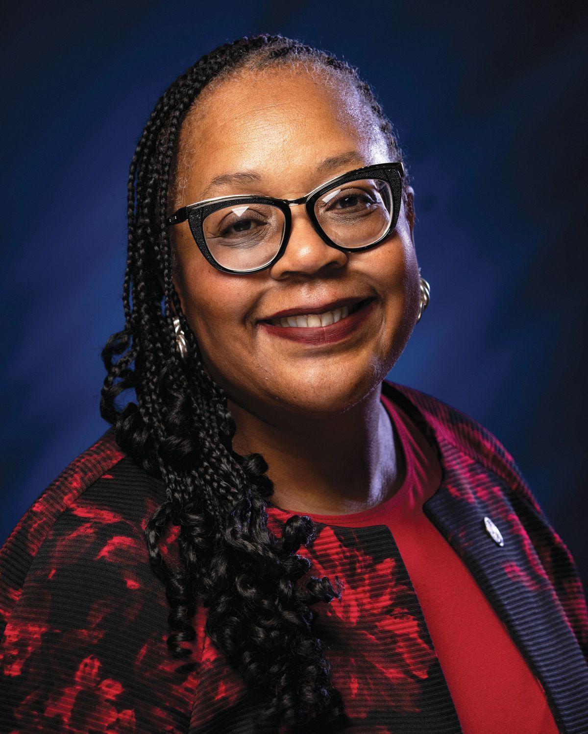 State Rep. Carolyn Jackson, D-Hammond