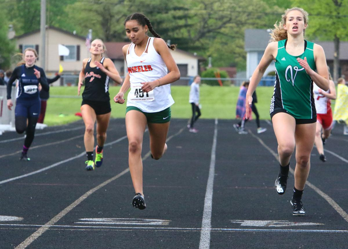 Girls Track Sectionals at Chesterton (Project 800)