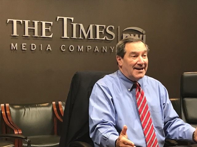 UPDATE: Sen. Donnelly tells Times editorial board he supports, awaits FBI investigation on Kavanaugh