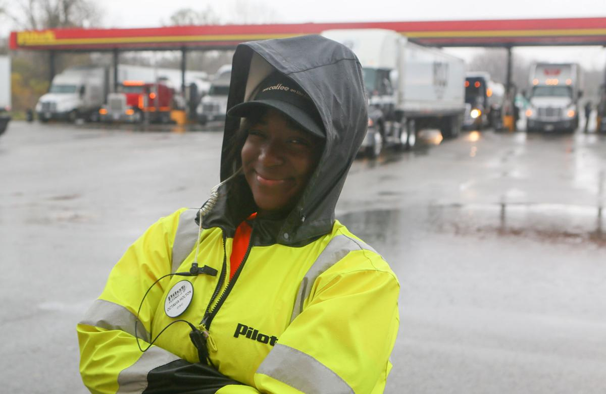 Octavia Holton is a Diesel Service Champion at Pilot Truck Stop in Gary
