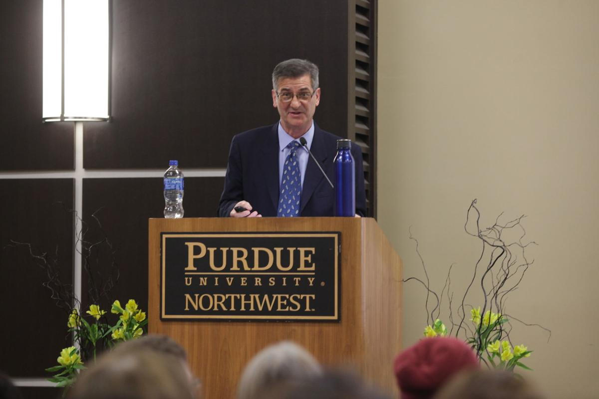 Pulitzer Prize-winning author, journalist Edward Humes to Purdue students: Americans are 'champions of waste'