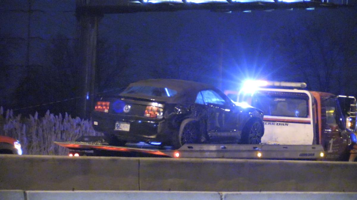 Two crashes on Interstate 80/94