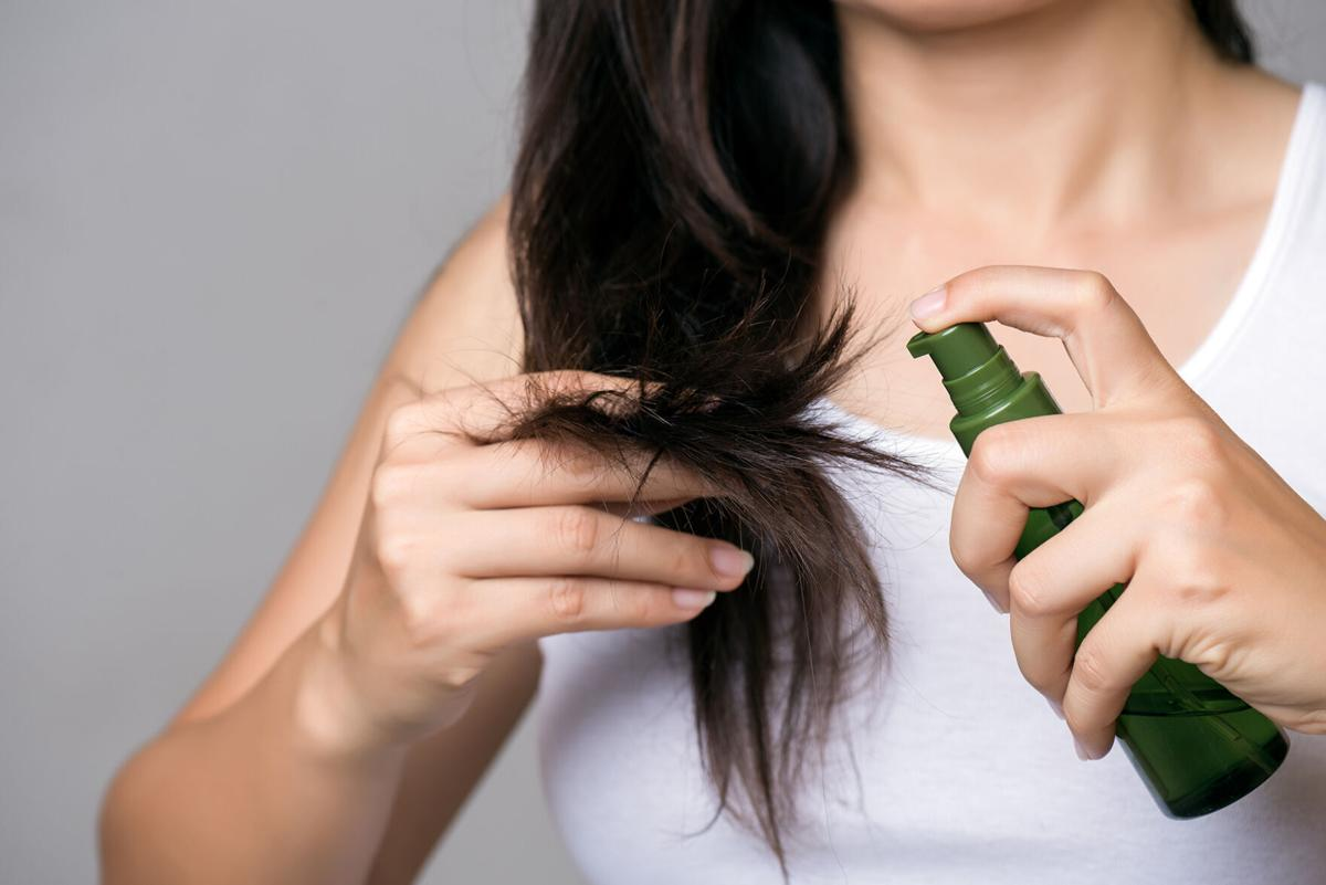 Olive oil for hair