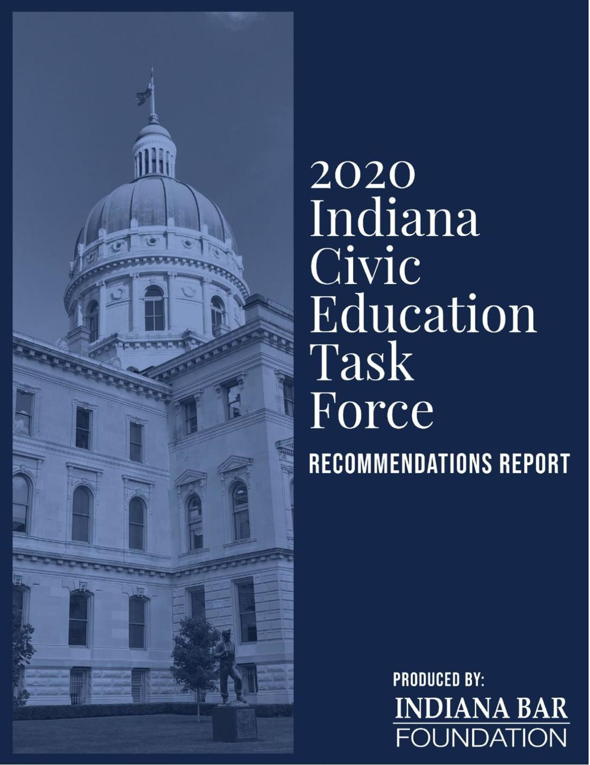 Indiana Civic Education Task Force 2020 report