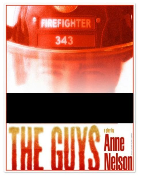 """The Guys"" by Anne Nelson Play Logo"