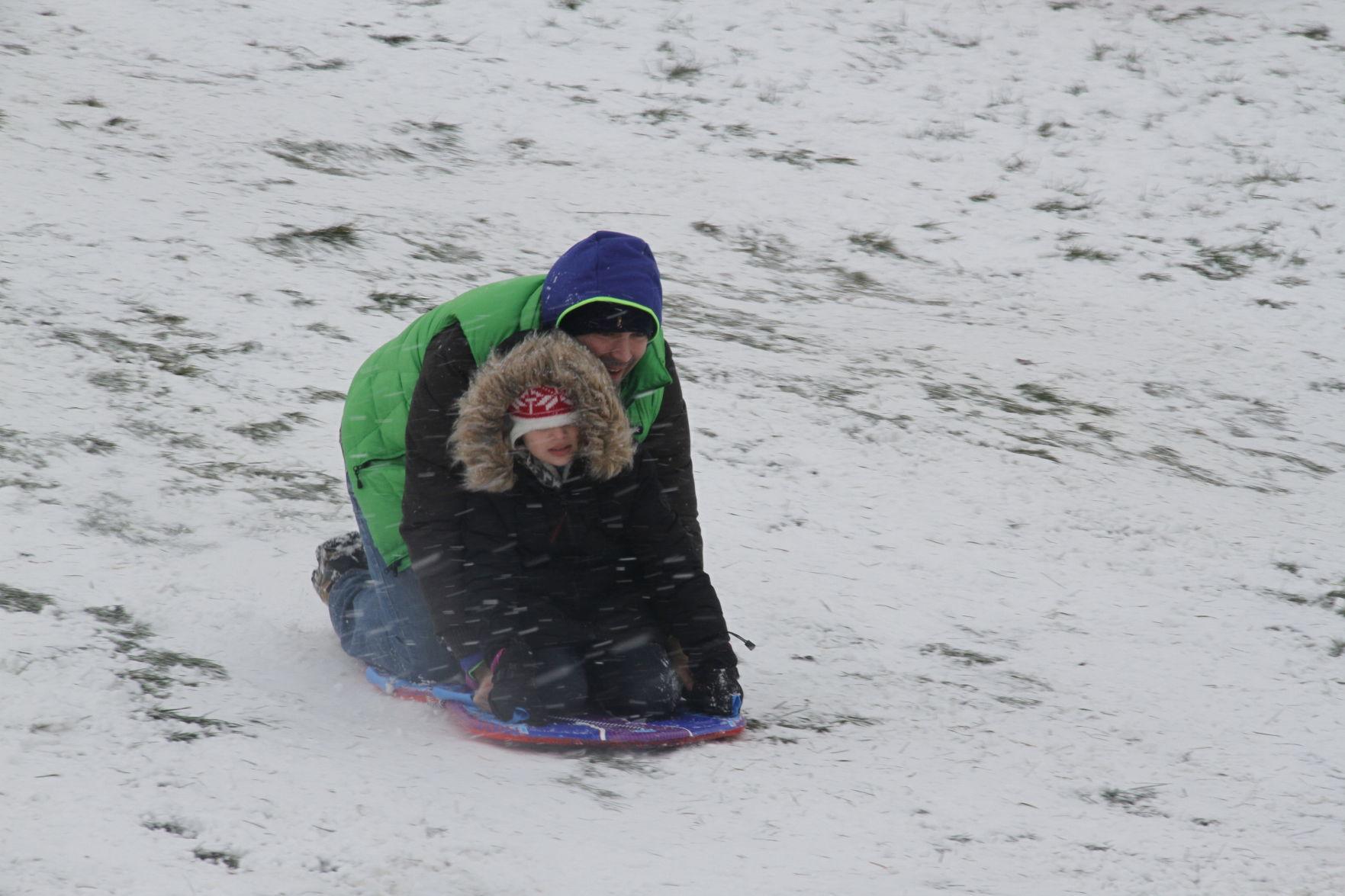 Sex while sledding