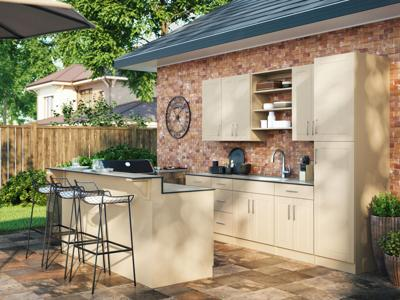 At home with Marni Jameson: They're Coming! Part Two: Outfitting the outdoor kitchen