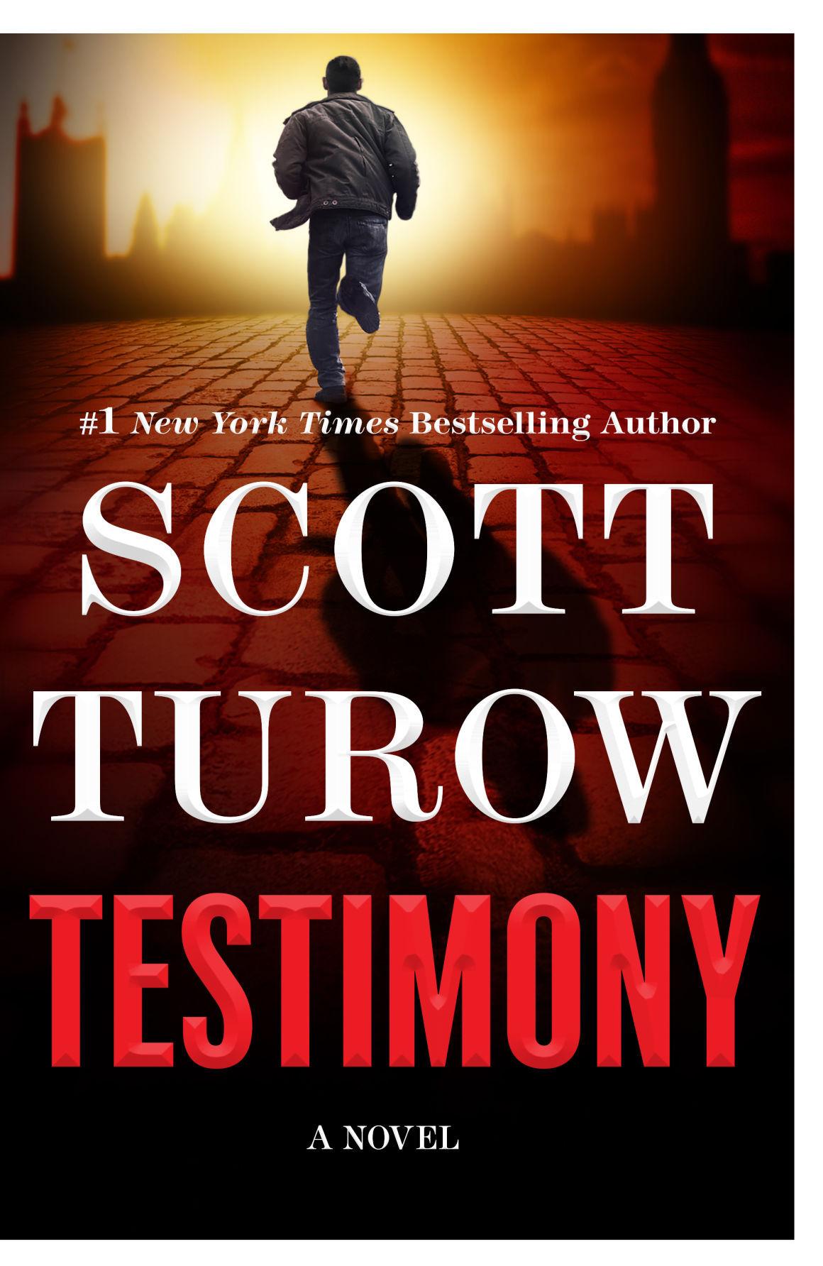 presumed innocent author releases new novel testimony - Presumed Innocent Book
