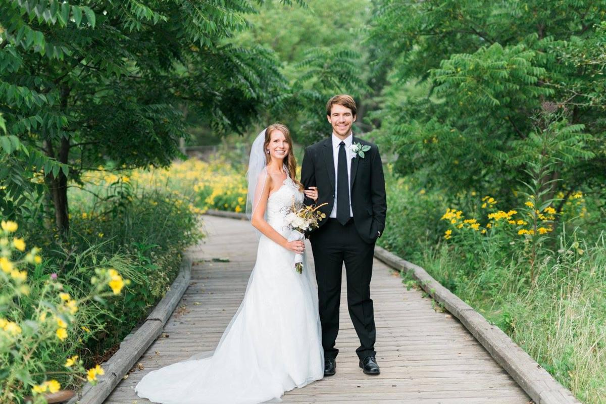 Ellyn and Brody wed