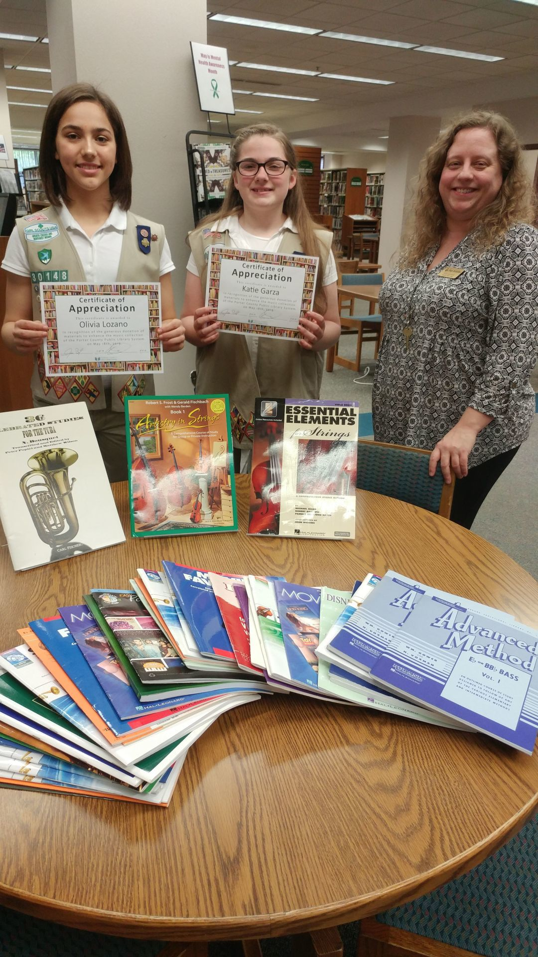 Girl Scouts celebrate  highest awards