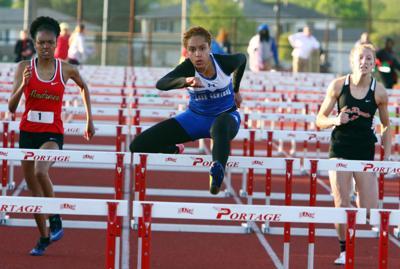 Girls Track Regionals at Portage