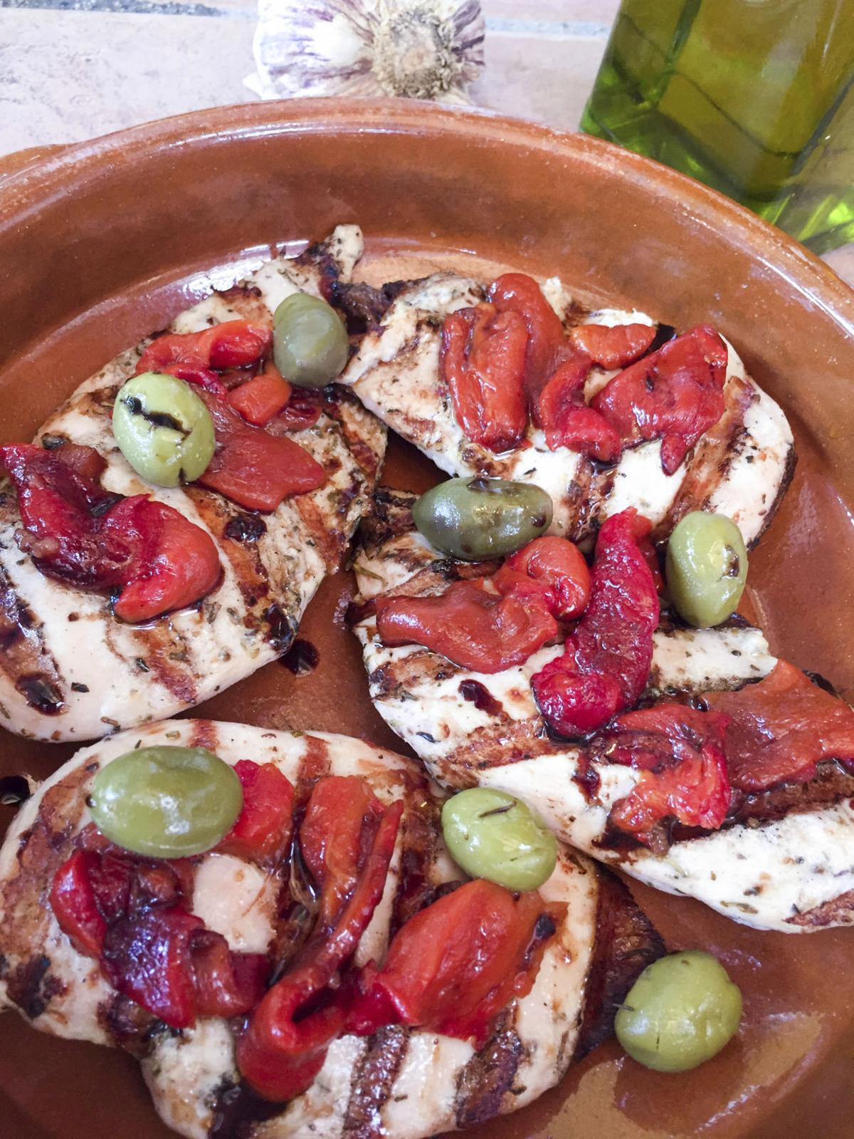 Food Healthy Chicken Breasts Provencal