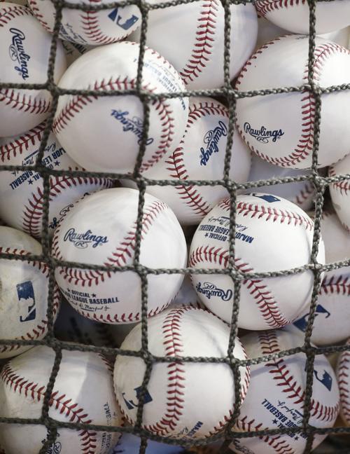 MLB baseball stock
