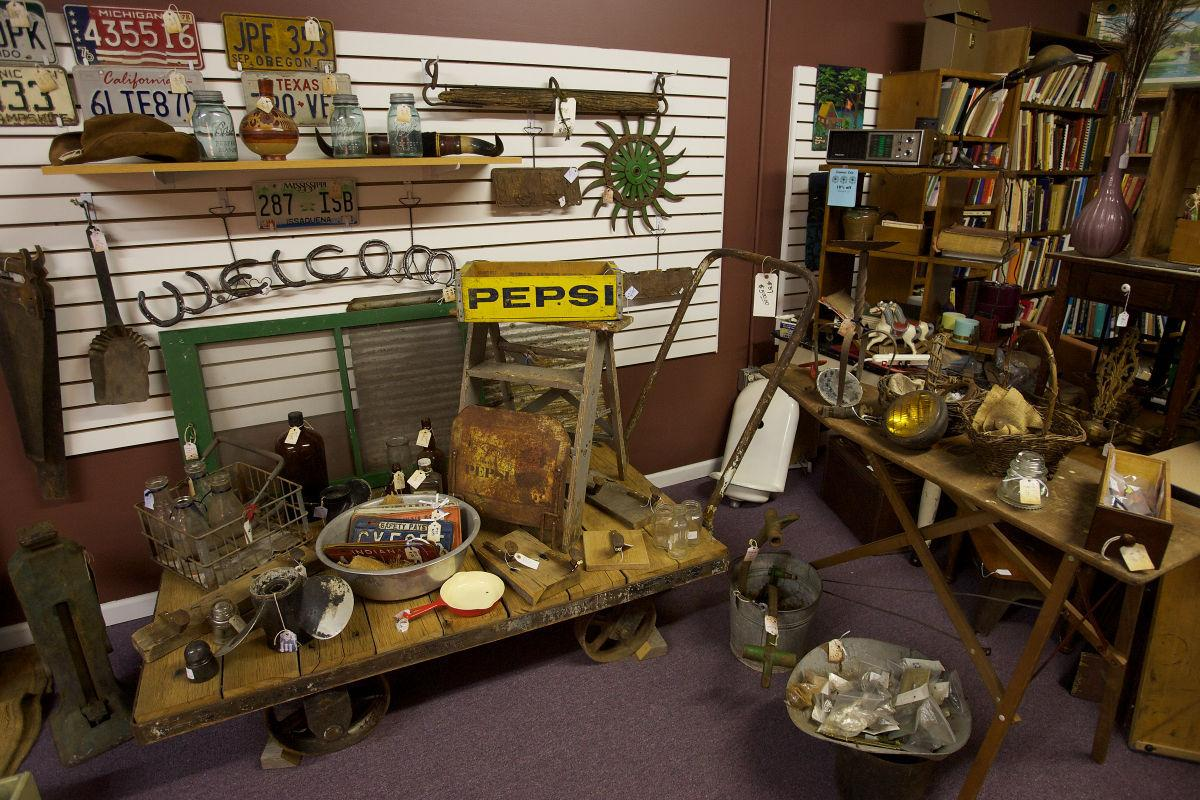 Seeking treasures from simpler times in downtown Crown Point