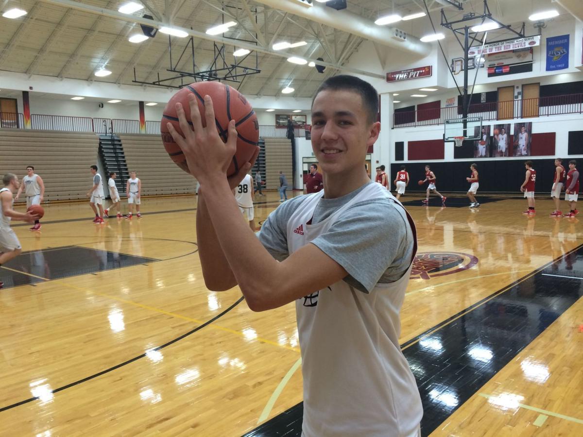 Lowell's Dustin Hudak loves hanging nets in his home
