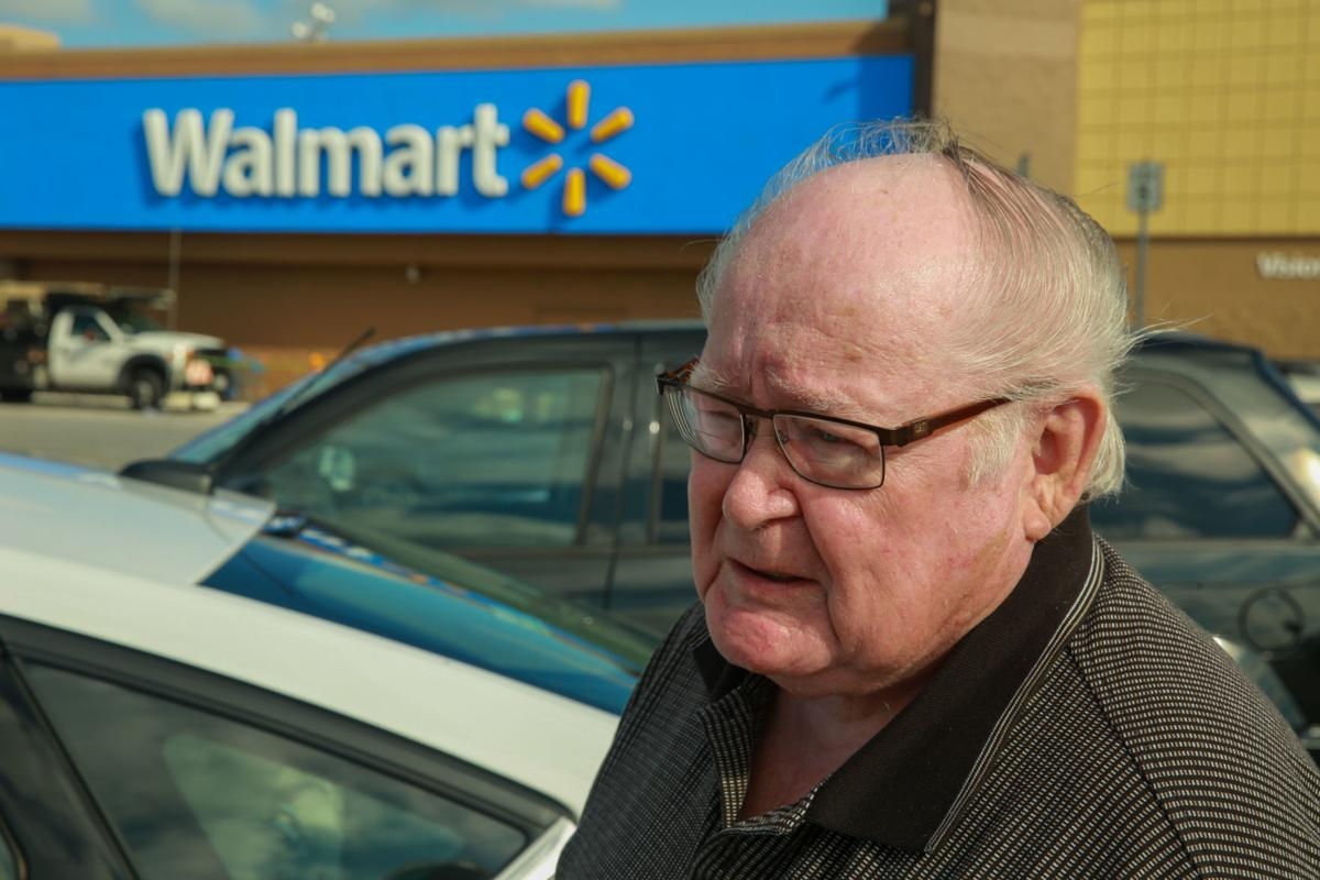 Customers talk about shopping at Walmart