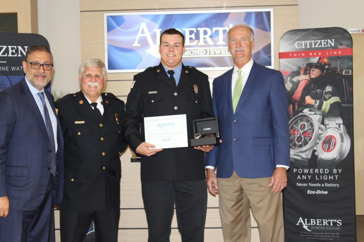 Albert's honors local first responders