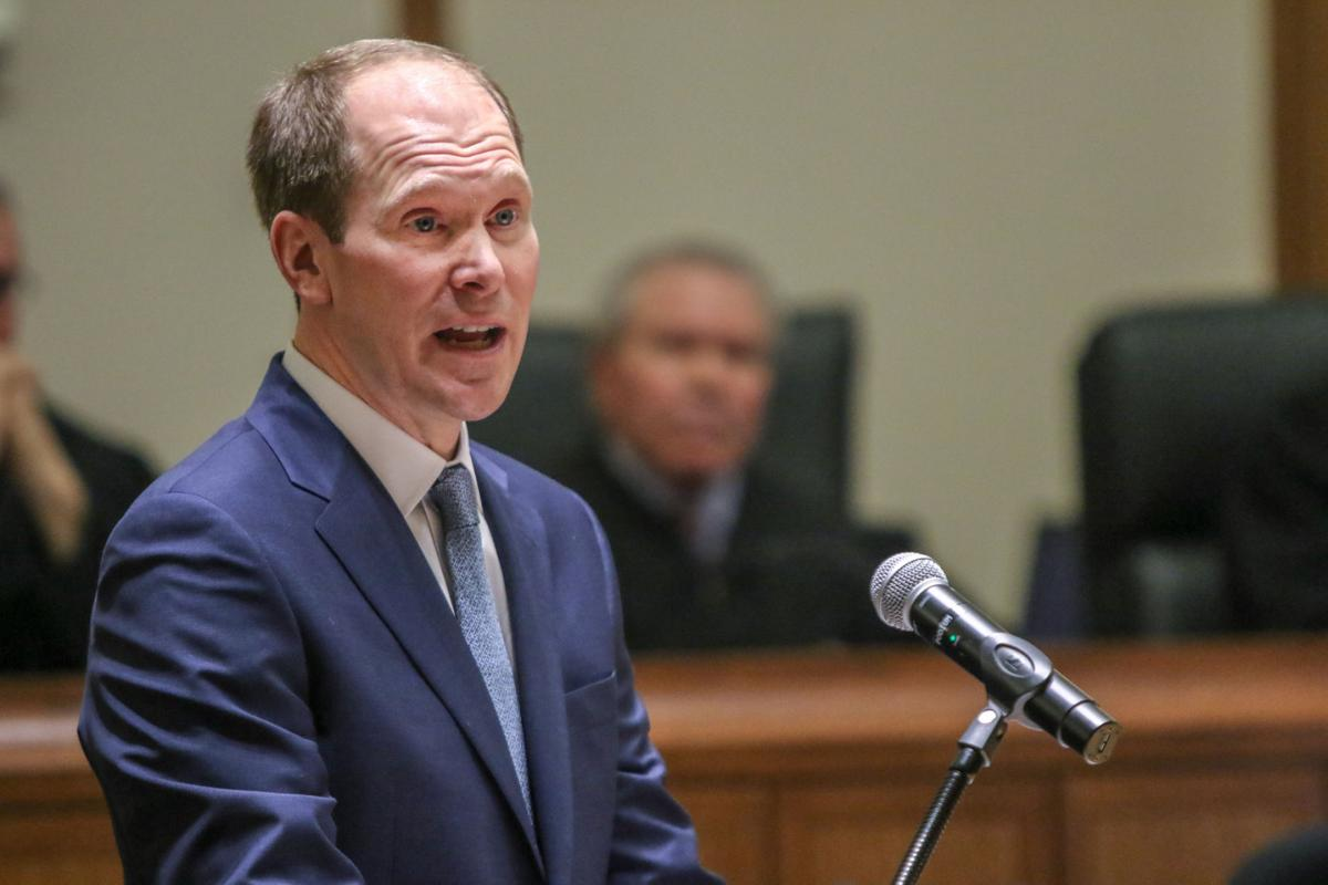 U.S. Attorney Thomas L. Kirsch makes it official and formal as northern  Indiana's 18th federal prosecutor | Lake-news | nwitimes.com