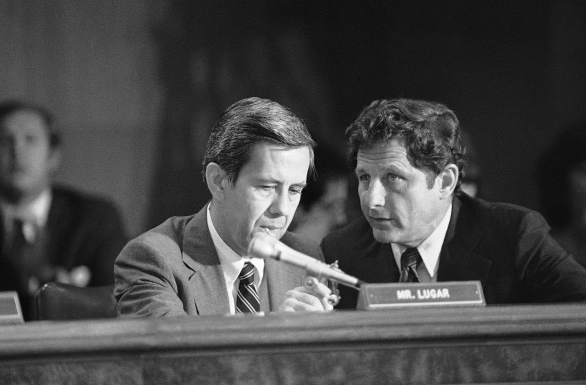 Birch Bayh, Richard Lugar