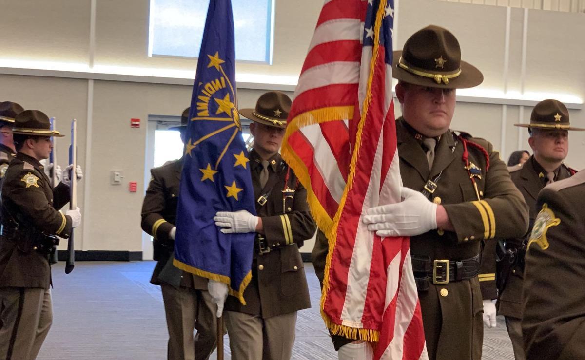 Porter County police memorial service
