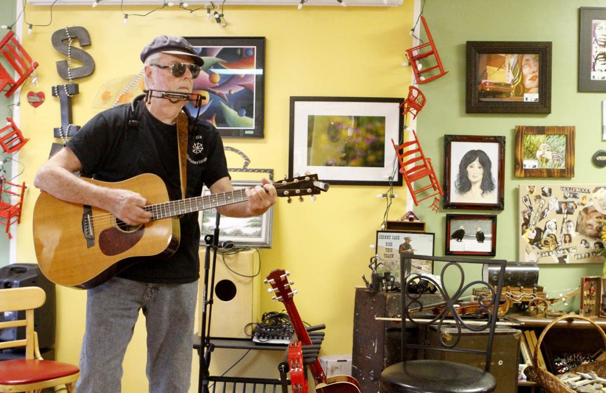 Highland gallery a venue for local artists and musicians
