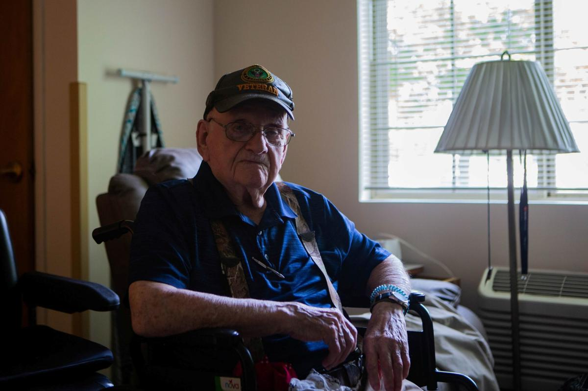 100-year-old veteran shares birthday with America