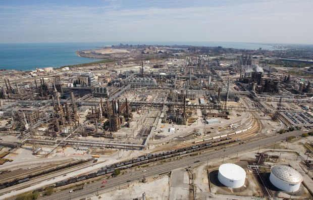 Malfunction at BP's Whiting Refinery sends oil into Lake Michigan