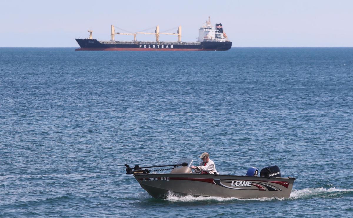 Lake Michigan boater