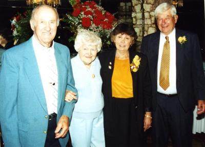 "Ed and Lorraine ""Blondie"" Wappel and Peggy and Chester Potempa September 2003"