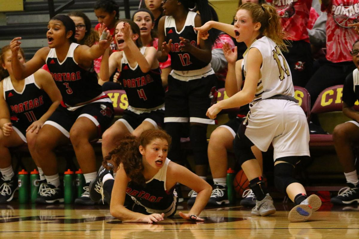 Portage at Chesterton girls basketball