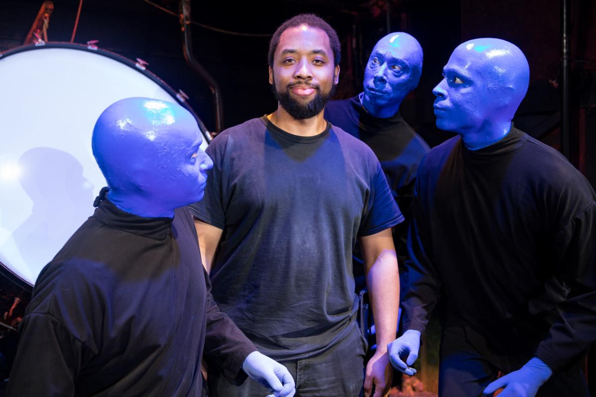 Blue Man and Willie Winters