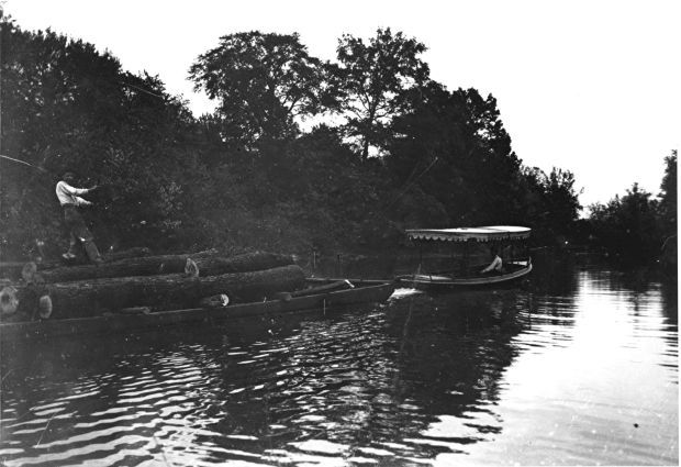 Steamboats on the Kankakee River